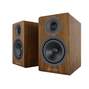 Acoustic Energy AE300 (2018) Real Walnut wood veneer