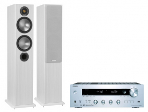 Onkyo TX-8250 + Monitor Audio Bronze 5 White