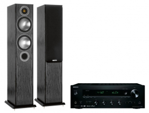 Onkyo TX-8250 + Monitor Audio Bronze 5 Black