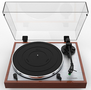 Thorens TD 402 DD (TP72, AT VM95E) highgloss walnut